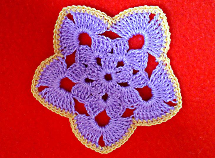 Fiore 2D a 5 petali